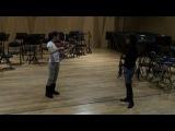 Мастер-класс по скрипки, 1-ый день